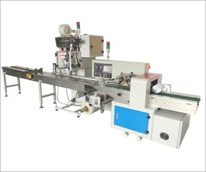 Automatic servo motors packing machine with auto card feeder and auto screws counting and packing machine