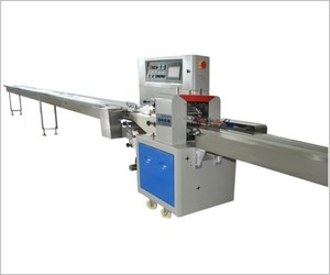 Long shape products servo motor packing machine