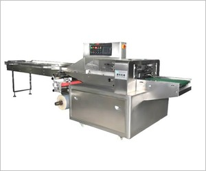 Three servo motor vegetable packing machine