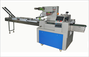 WT On edge biscuit packing machine